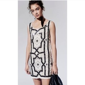 Free People Speakeasy Sequin Cocktail Mini Dress